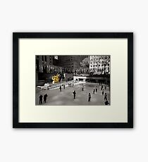 ~Prometheus @30 Rock~ Framed Print