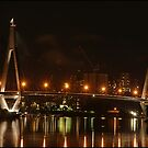 Anzac Bridge, Sydney by JeniNagy