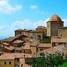 Volterra - Town of Twilight III by Denis Molodkin