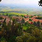 Volterra - Town of Twilight IV by Denis Molodkin
