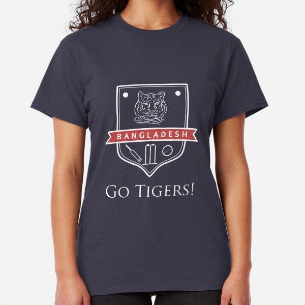 Bangladesh Cricket: Go Tigers Classic T-Shirt