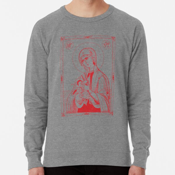 Galaktotrophousa   Milk-Giver Icon - Full Figure Lightweight Sweatshirt