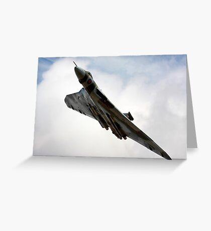Vulcan over Greeting Card