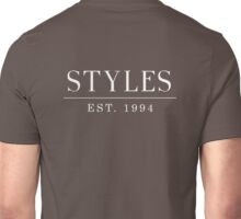 Harry Styles est. 1994 White Unisex T-Shirt