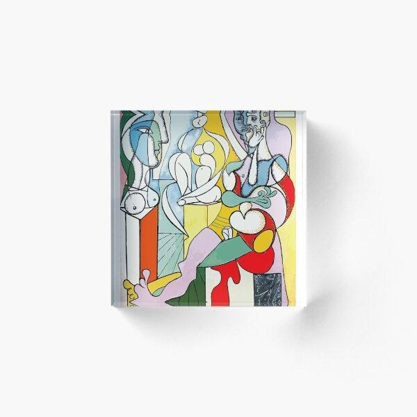 Pablo Picasso The Sculptor, 1931 Artwork Reproduction Acrylic Block