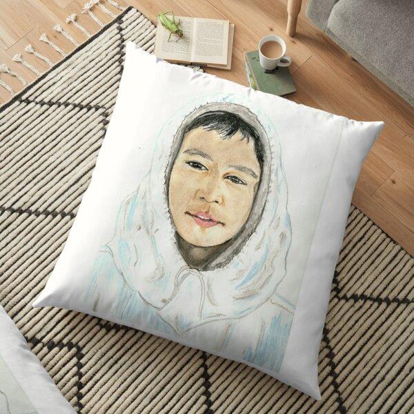 Eskimo  Floor Pillow