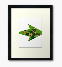 Artemis - Young Justice Framed Print