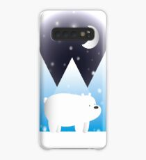 Ice Bear & Snow - We Bare Bears Case/Skin for Samsung Galaxy