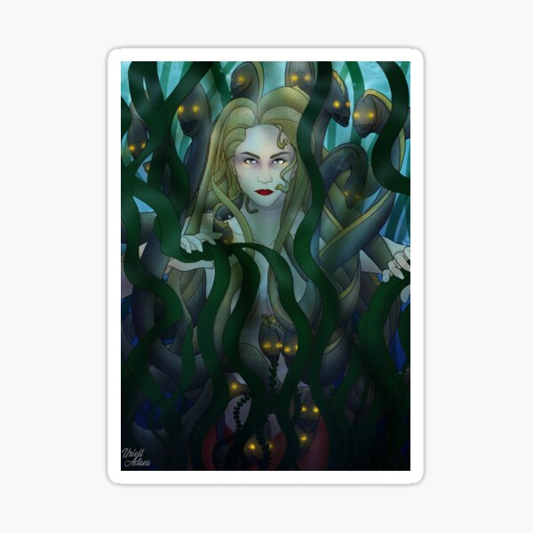 Medusa des profondeurs Sticker