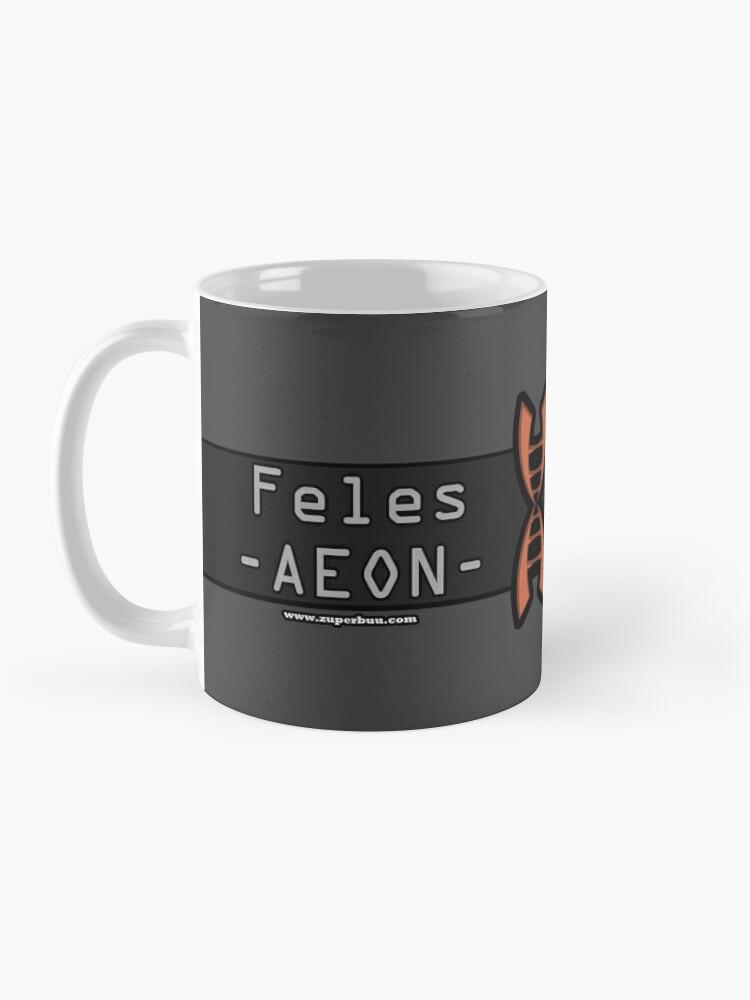 Alternate view of Aeon the Feles Mug