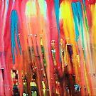 Swathe of colours no 7 ( Magic Flute ) by Tony Broadbent