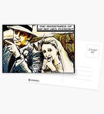 Mr and Mrs Pleasant, 2014 Postcards