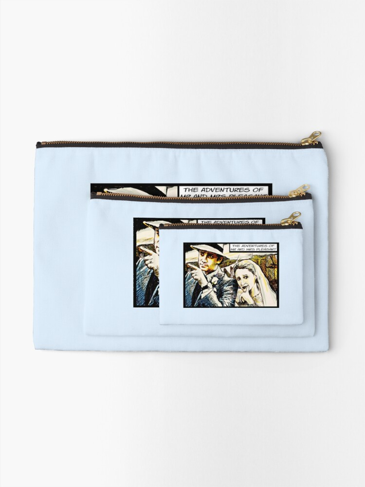 Alternate view of Mr and Mrs Pleasant, 2014 Zipper Pouch