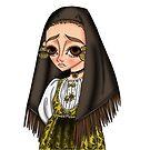 Abito tradizionale di Bari Sardo - Traditional Sardinian Dress by Lu1nil