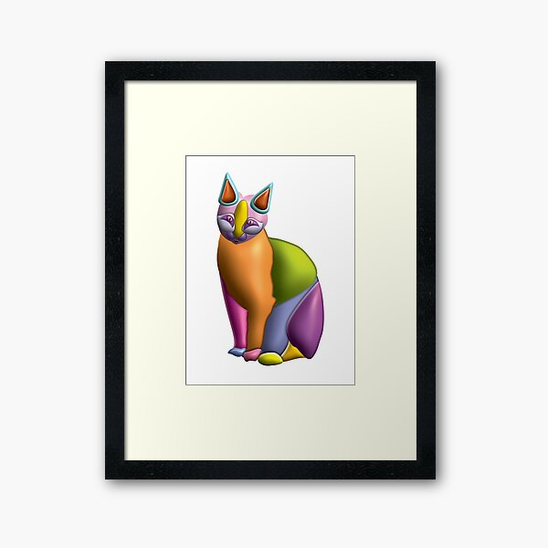 Candy Cat 06 Framed Art Print