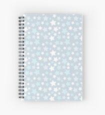 Animal Crossing Snow Pattern Spiral Notebook