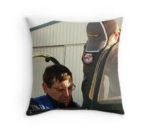 Buckle your seat belt... Throw Pillow