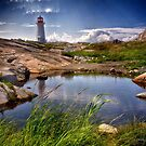 """The Lighthouse at Peggy""""s Cove by Kathy Weaver"""