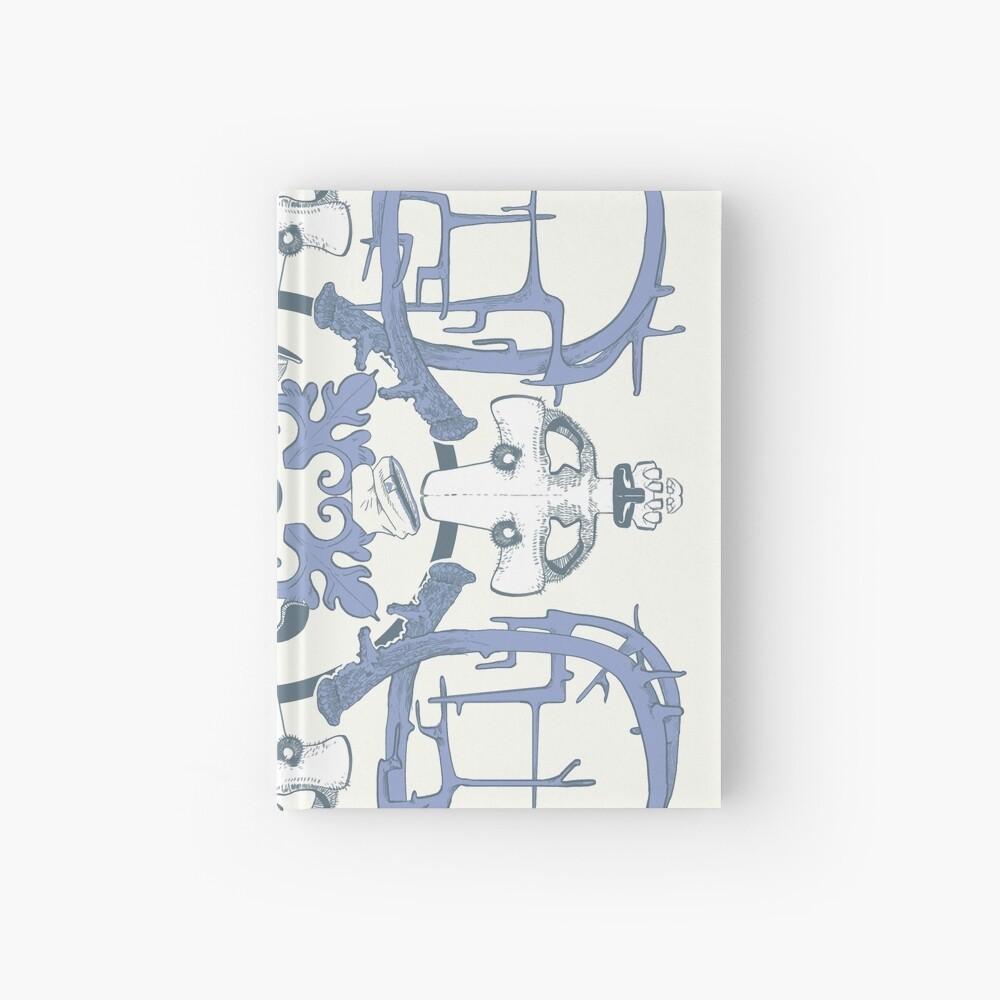 Street art azulejo tile Hardcover Journal