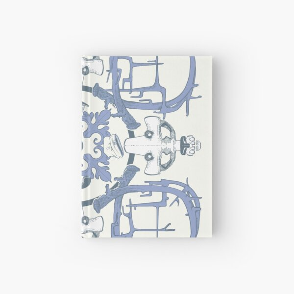 Street art azulejo tile Hardcover Journal