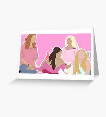 Tarjeta de felicitación Chicas malas