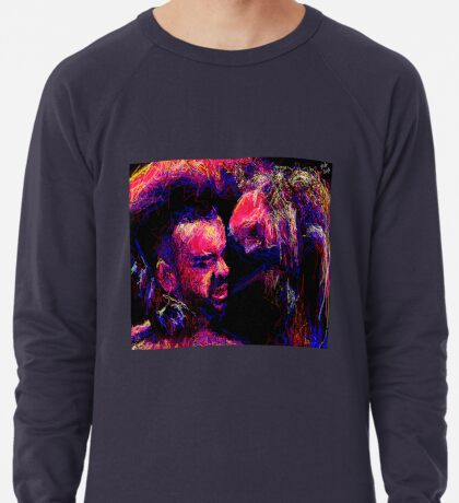 """His Neck, 2013"" by Ms Slide Lightweight Sweatshirt"