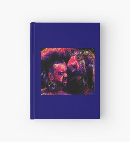 """""""His Neck, 2013"""" by Ms Slide Hardcover Journal"""