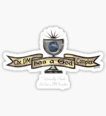 Dm Complex Tee Sticker