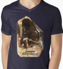 Lemuria Quartz Aquarium Men's V-Neck T-Shirt