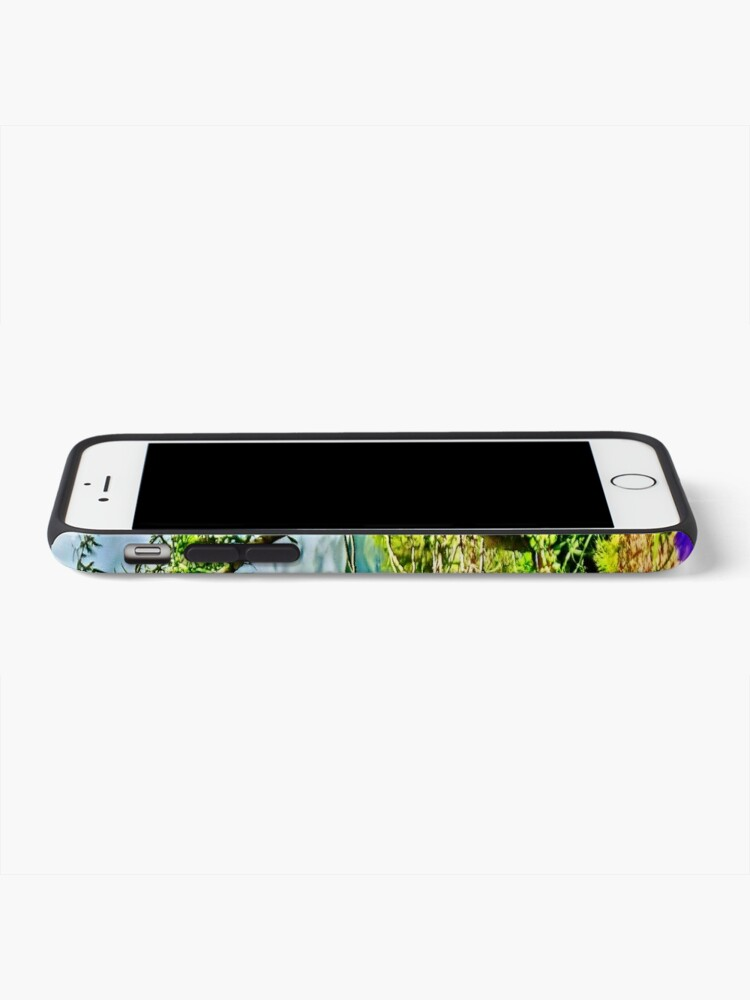Alternate view of Flight of the Iris Bee, 1 of 4 iPhone Case & Cover