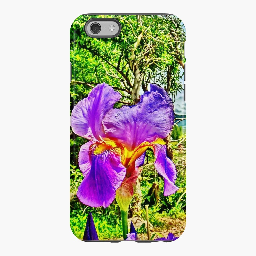 Flight of the Iris Bee, 1 of 4 iPhone Case & Cover
