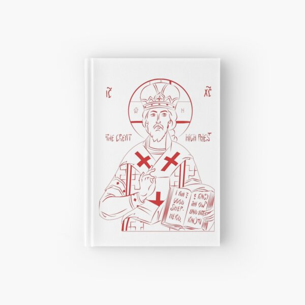 Christ the High Priest Hardcover Journal