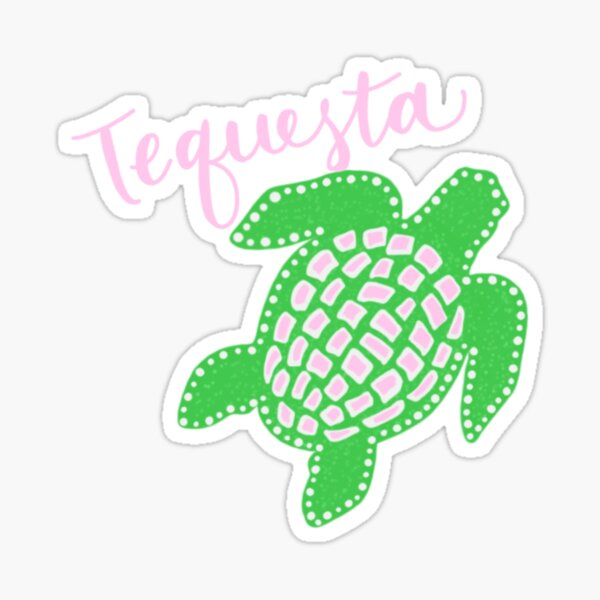 Tequesta Turtle` Sticker