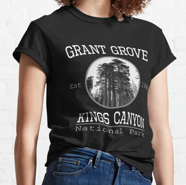 Kings Canyon National Park Grant Grove Classic T-Shirt