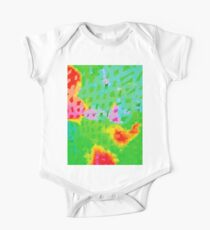 Colorful Abstract Watercolor Painting Background Kids Clothes
