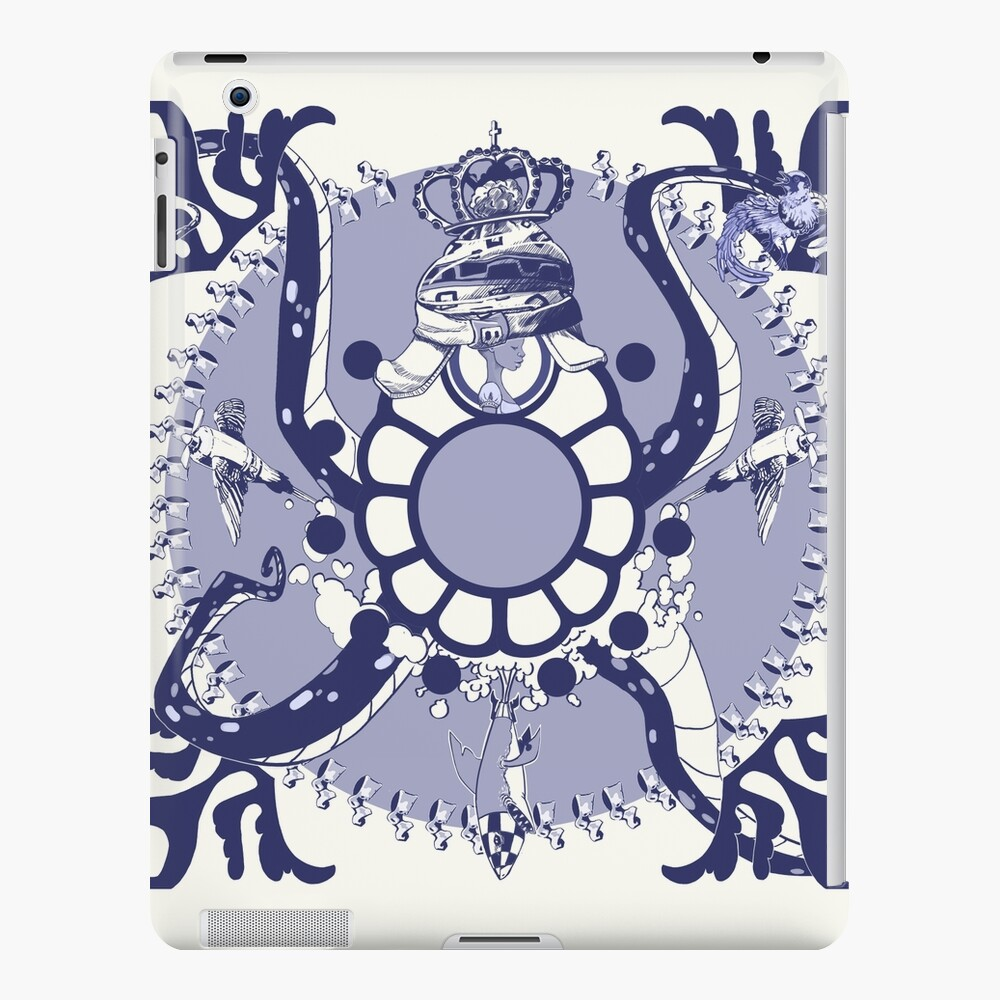 Quirky African Azulejo Comic iPad Case & Skin