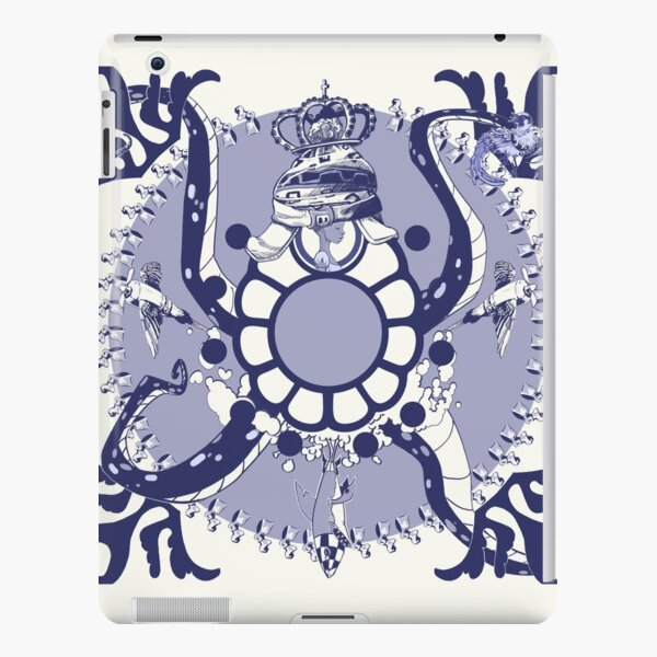 Quirky African Azulejo Comic iPad Snap Case