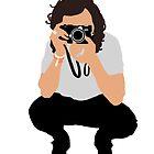 «La silueta de Harry Styles.» de Hilaarya