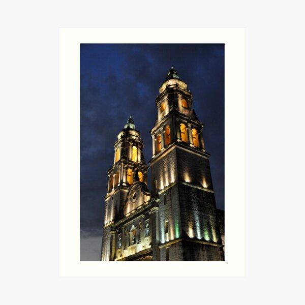 Catedral de Nuestra Señora de la Purísima Concepcíon II Art Print