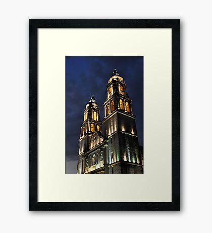 Catedral de Nuestra Señora de la Purísima Concepcíon II Framed Print