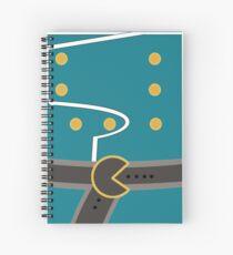 Colonel Curtiss Spiral Notebook