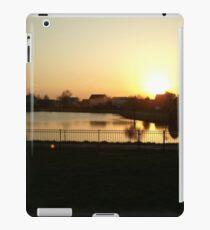 Sunset Over Willow Lake iPad Case/Skin