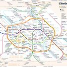 New Berlin rapid transit route map (February 27, 2019) by Pasha Omelekhin
