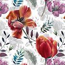 «Tulipanes de primavera» de Emma   Reznikova