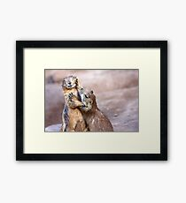 Just One Kiss Framed Print