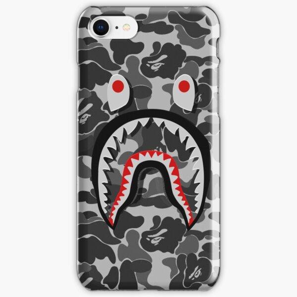 bape shark black army iPhone Snap Case