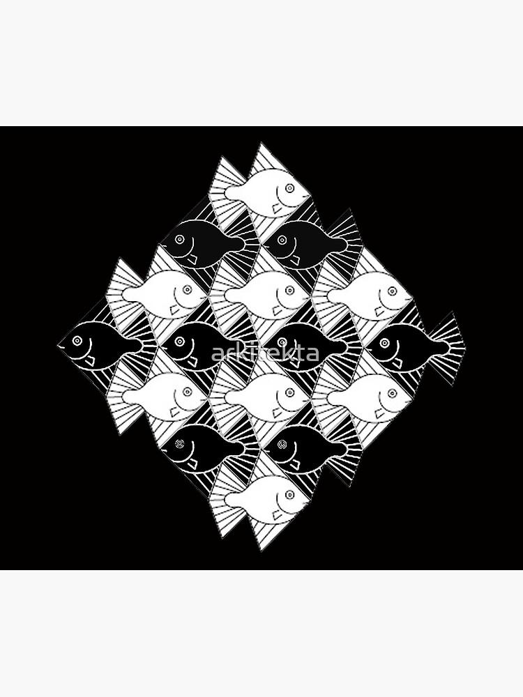 Escher Fishes by arkitekta