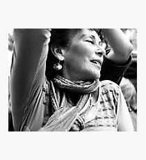 Sunday on rue Mouffetard Photographic Print