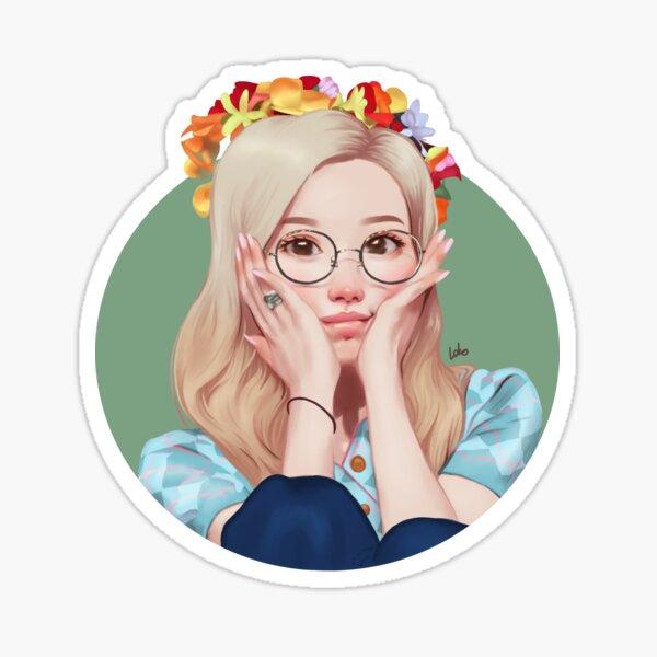 Cute fansign Sana drawing Sticker