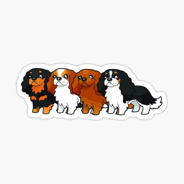 Cavalier Collection - Horizontal Sticker